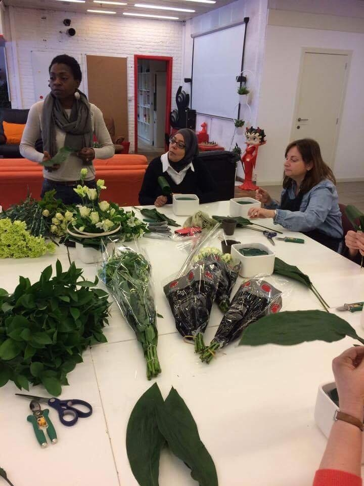 Atelier d'art floral SSC Tubize Mars
