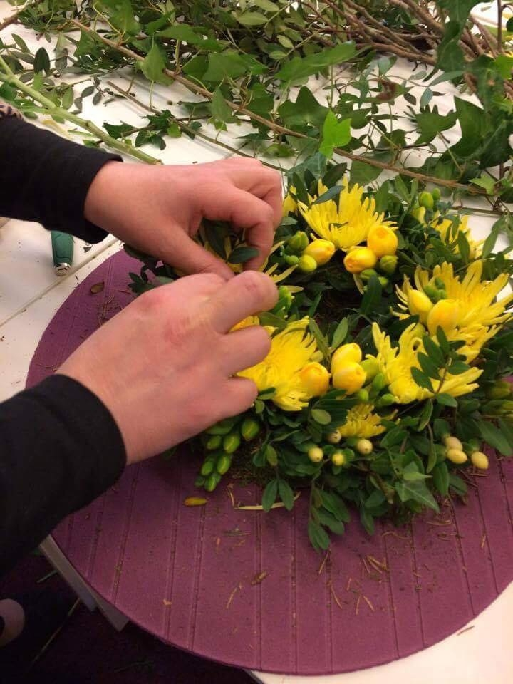 Atelier d'art floral SSC Tubize Avril