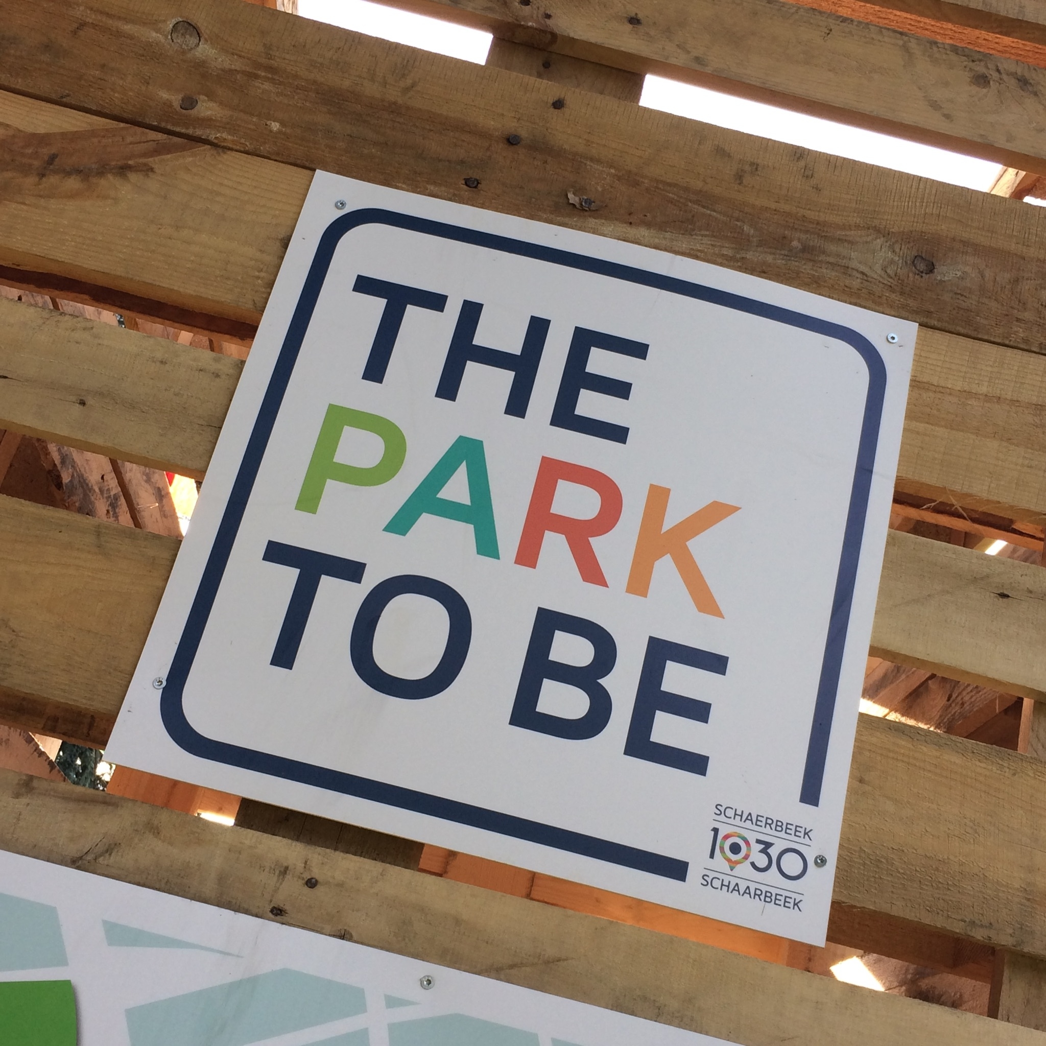 The Park to Be - juillet