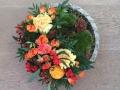 Montage floral d'automne