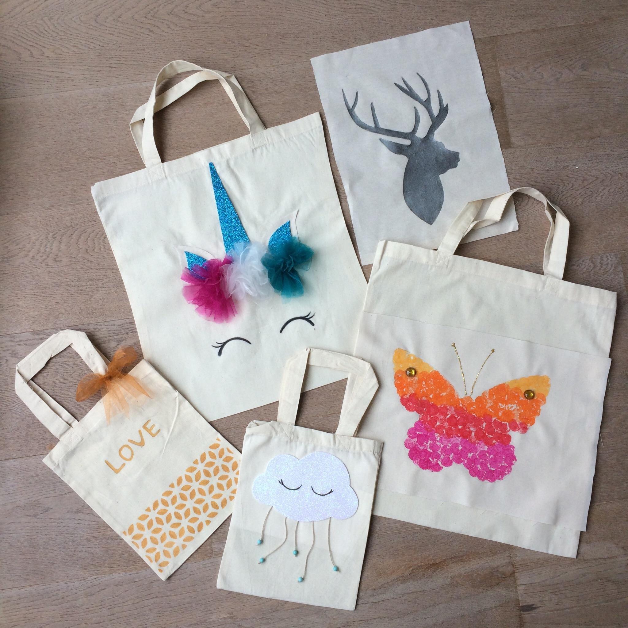 Tote-bags, sacs personnalisés