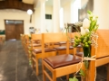 Déco florale église